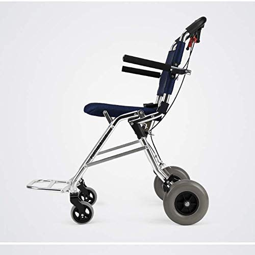 - TPKNG Folding Mobile Device Thicken Seat Portable Outdoor Bicycle Wheelchair Suitable for The Elderly, Disabled and Disabled