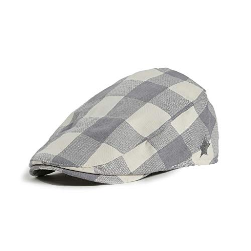 FACAIAFALO Plaid Pattern Children's Beret Plaid Plaid Pattern Duck Tongue Painter Beret boy Girl hat Cap