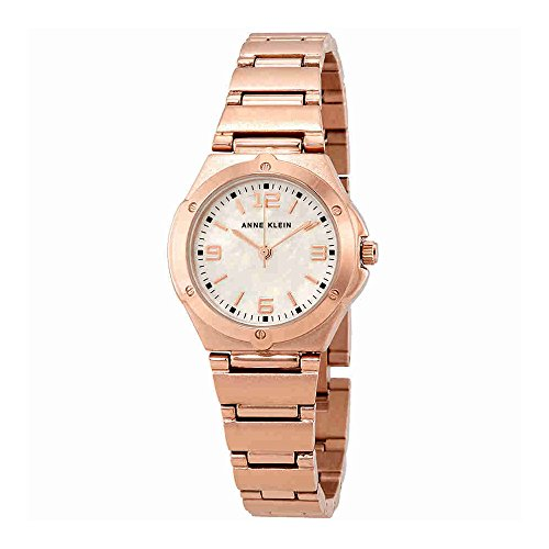 Anne Klein Women's 10/8654RMRG Rose Gold-Tone Bracelet Watch