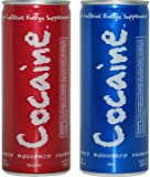 Cocaine Energy Drink 6 Pack = 3 SPICY FLAVOR AND 3 MILD FLAVOR