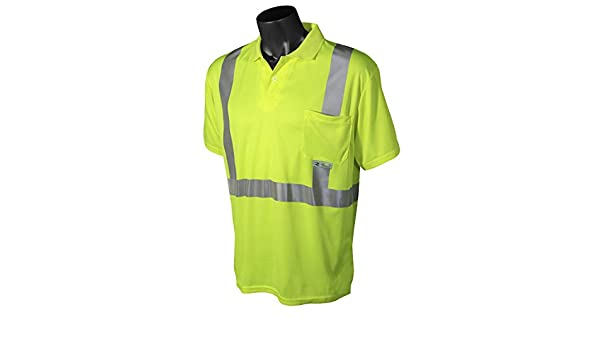 Radians SW11-2BGR-2X Industrial Safety Shirt Short Sleeve