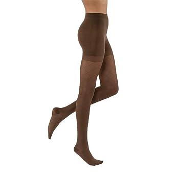 de920a601e34d Amazon.com: JOBST UltraSheer Diamond Pattern 20-30 mmHg Waist High  Compression Pantyhose Stockings, Closed Toe, Large, Espresso: Industrial &  Scientific