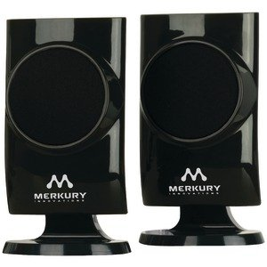 MERKURY M-SPW410 UNIVERSAL STEREO SPEAKERS (BLACK) - M-SPW410