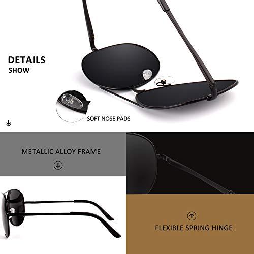 Amazon.com: LINVO - Gafas de sol polarizadas clásicas de ...