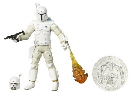 Star Wars 30th Anniversary McQuarrie Concept BOBA FETT Action Figure with Coin #15 (Coin color will -