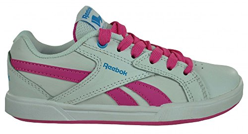 Reebok Royal Advance Kids Girls Sneaker ragazze scarpe da tennis Bianco/rosa