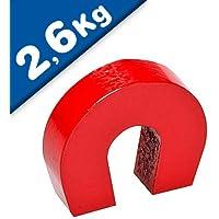 Iman de herradura AlNiCo rojo 28,6 mm x