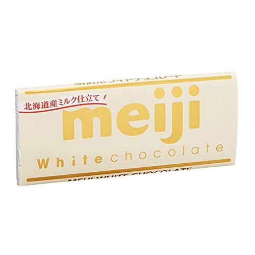 Meiji White chocolate bar Hokkaido Milk Japan Snack Dagashi by Meiji (Image #2)