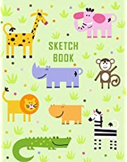 Sketch Book: Notebook for Drawing, Writing, Painting or Doodling for Kids , 110 Pages, 8.5x11