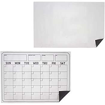 Amazon.com: Juvale Magnetic Dry Erase Sheets - 2-Pack Dry