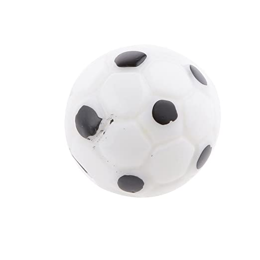 Rcdxing 10 piezas 1:12 balones de fútbol balón muñeca casa ...