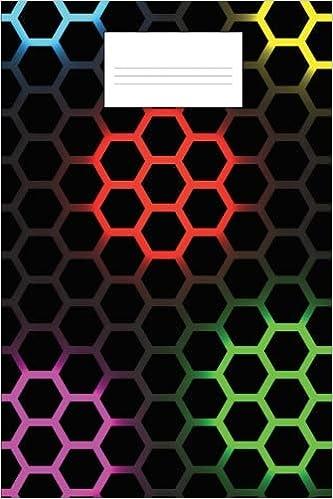 hex grid notebook hexagonal graph paper notebook perfect rpg graph