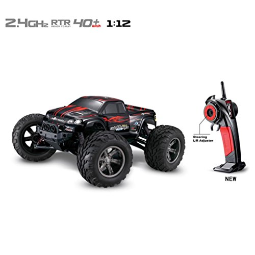 RC Car,Laimeng 35+MPH 1/12 Scale 2.4Ghz 2WD High Speed Re...