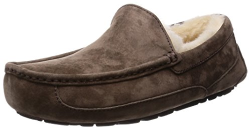 UGG Men's Ascot Slipper, Espresso, 11 M US by UGG