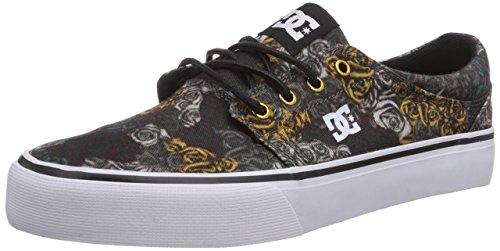 Tx Kco camo Schwarz Se Kco J Noir Trase Shoes Basses Shoe Black Sneakers Dc Femme AqnEHw
