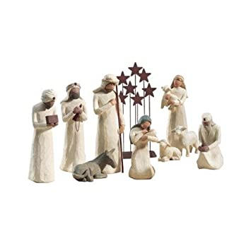 Willow Tree 10 Pc. Starter Nativity Set By Demdaco