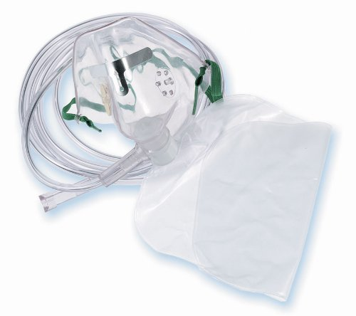 HCS4610B - Medline Adult Disposable Oxygen Masks,Adult by Medline
