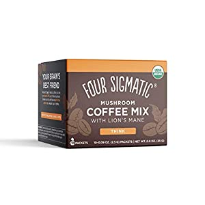 Well-Being-Matters 41eFTnJ5HzL._SS300_ Four Sigmatic Foods Mushroom Instant Coffee, Organic and Fair Trade with Lions Mane, Chaga, & Mushroom Powder, Focus…