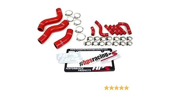 HPS Red 3-Ply Silicone Radiator Hose for Lexus 96-97 LX450 4.5L V6 FZJ80
