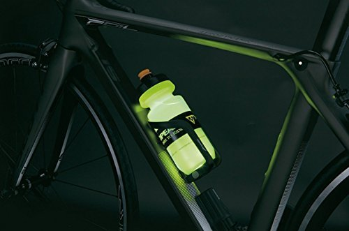 Topeak iGlowCageB water bottle and cage with LED light
