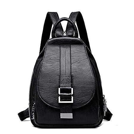 QWKZH Sacs à Dos Women Backpacks Vintage Female Shoulder Bag Sac a Dos Travel Ladies Bagpack Mochilas School Bags for Girls Preppy