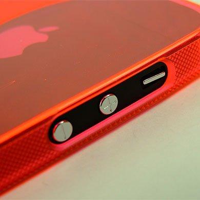 ABZ-S Rückschale für iPhone 5S, 5 - rot