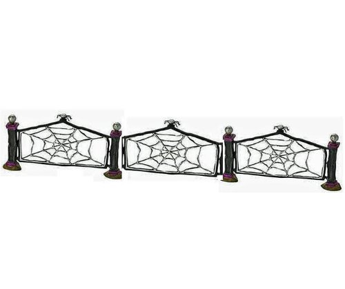 Wicked Spider Web Fence - 7 Piece