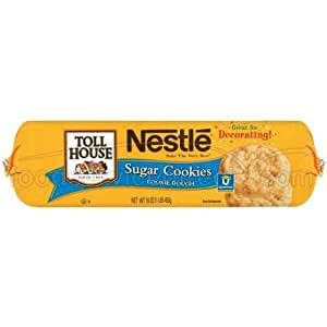 Nestle Toll House Sugar Cookies, 2 Ounce -- 120 per case.