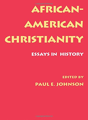 Search : African-American Christianity: Essays in History