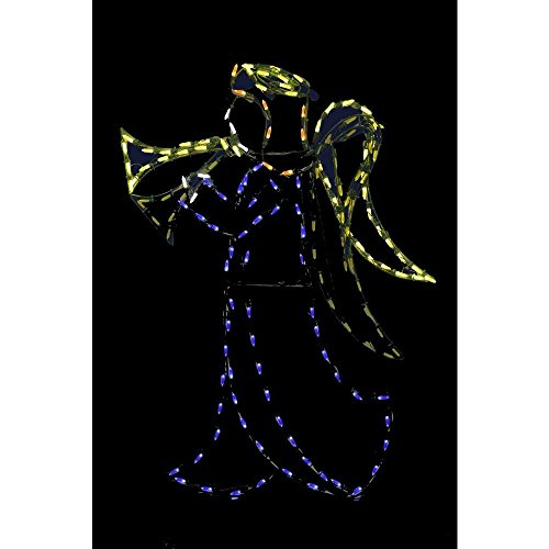 Lighted Outdoor Nativity Angel - 9