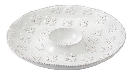 White Fleur De Lis - 9