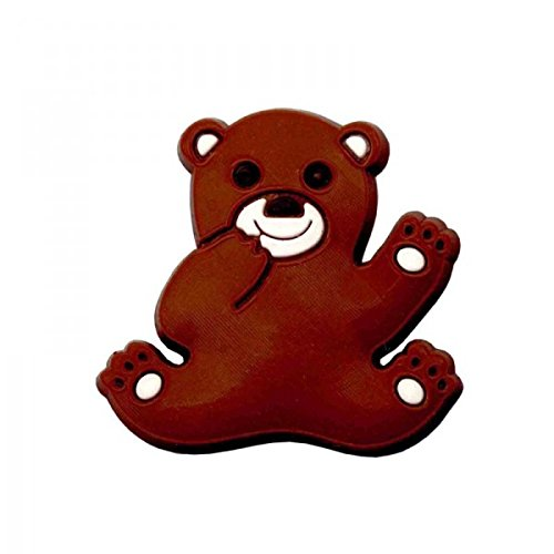 non dé finie Pin's pour sabot plastique compatible crocs - Pin'zz ourson marron non définie