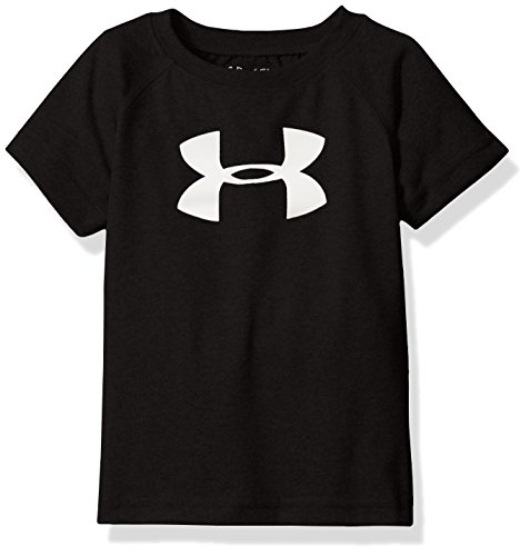 Under Armour Little Boys' Toddler Bold Heat Gear T-Shirt Black NKH69LJ0m3