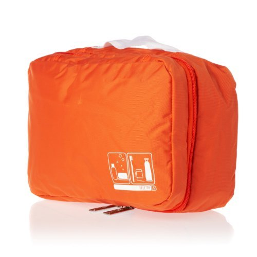 Flight001 Toiletry Bag Spacepak - Orange by