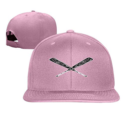 Beautiful sunflower Fun Sports Baseball Bat Fashion Men and Women General Truck Drivers Hip-Hop Baseball Caps Pink ()