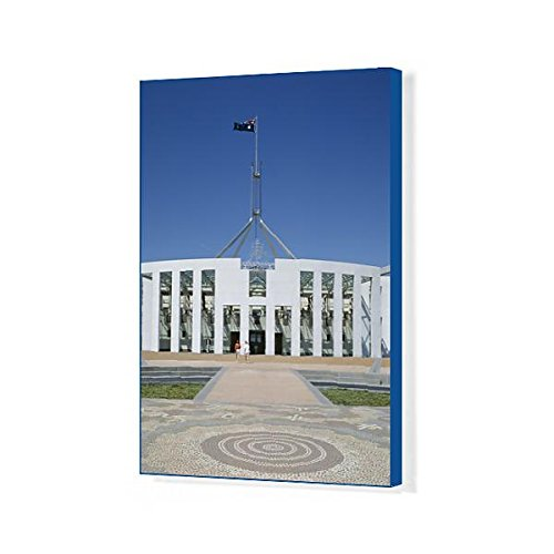 20x16 Canvas Print of Exterior of the new Parliament building, Canberra, Australian (10025510)