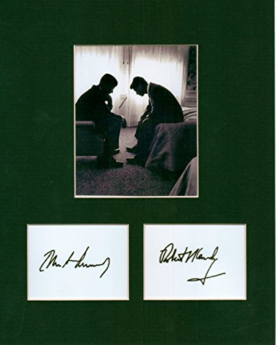 PRESIDENT JOHN F. KENNEDY & ROBERT F. KENNEDY, 8 X 10 CUSTOM PHOTO AUTOGRAPH - Kennedy Robert Autograph