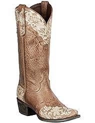 Lane Boots Womens Jeni Lace Western Boot
