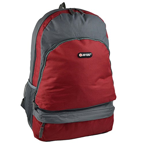 by BACKPACK Travel Grey Mens School College Work RUCKSACK Tec Boys Handy Red Dark Green Rio Bag Dark Grey Hi Cypress 5wwyTInvqA