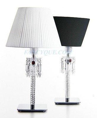 Attrayant Baccarat 25u0026quot; Torch Table Lamp Black Brand New In Original Box  Franceblack Brand New In
