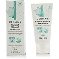 Derma E Natural Mineral Oil-Free Sunscreen Broad Spectrum SPF 30 - Face 56g/2oz