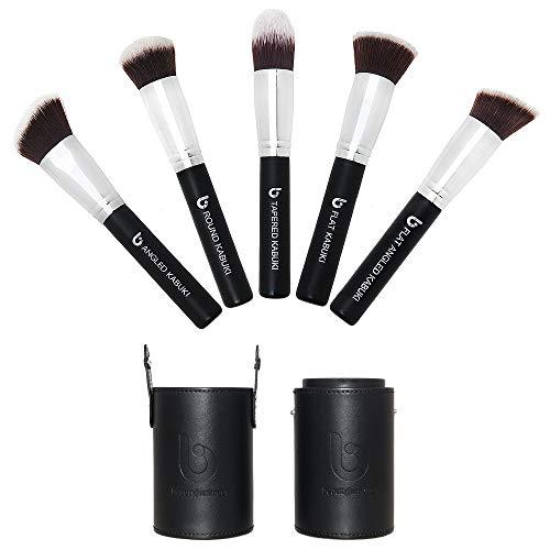 Amazon.com: Kabuki Juego de brochas de maquillaje: incluye ...