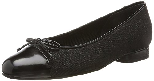 Gabor Ladies Basic Chiuso Ballerinas Nero (nero)