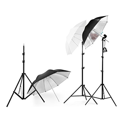Lightdow Photography Photo Umbrella Lighting Kit For Portrait Studio Youtube Vlog Interview (Model Number: LD-TZ001) from Lightdow