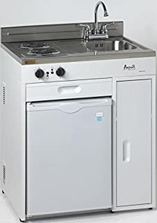 avanti ck3016 30   complete compact kitchen with 2 2 cu  ft  all refrigerator in amazon com  summit c48el kitchen all in one combination unit      rh   amazon com