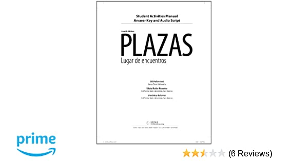Amazon student activity manual answer key and audio script for amazon student activity manual answer key and audio script for hershbergernavey davisborrs as plazas 4th 9780495916826 robert hershberger fandeluxe Choice Image