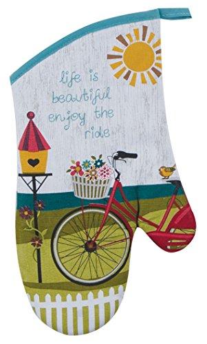 Kay Dee Mitt Oven Designs (Kay Dee Designs Enjoy The Ride Bicycle Oven Mitt)