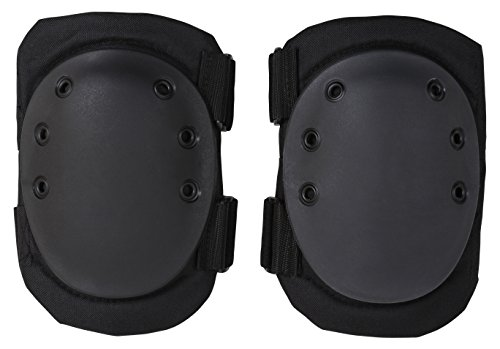 Rothco Tactical Protective Gear Knee Pads, Black