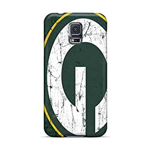 Great Cell-phone Hard Cover For Samsung Galaxy S5 With Unique Design High-definition Green Bay Packers Pictures Icase88