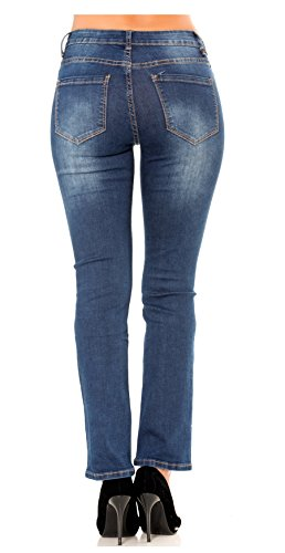 Droite 42 Nina Denim au Slim Carter et Femme Jeans du Jupe Pantalon Coupe Regular 34 Bootcut Skinny Stretch gZgTA